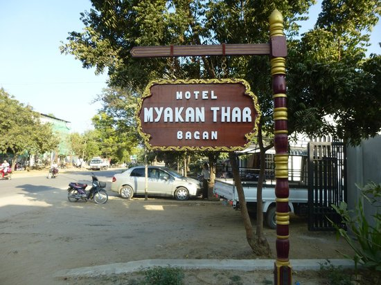 Motel Mya Kan Thar: The name is spelled a number of ways