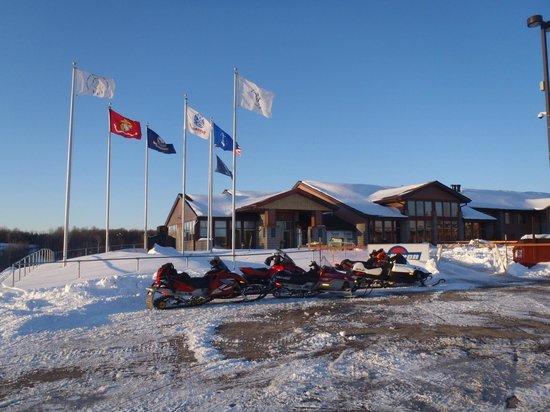 Potawatomi Carter Casino Hotel: Flags