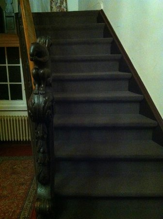 Hotel Egmond: Squirrel banister