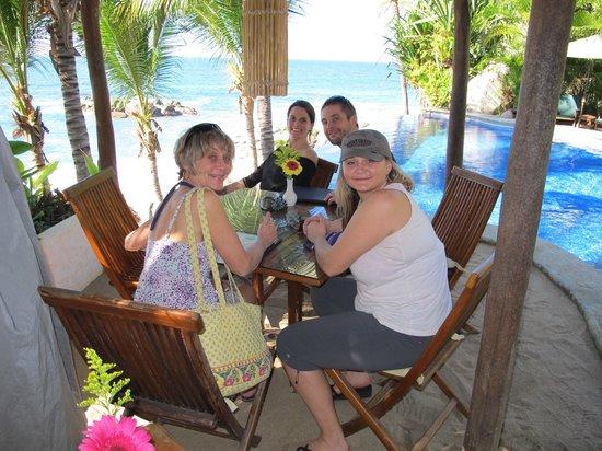 Playa Escondida: Lunch