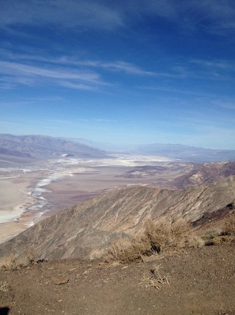 Dante's View : View of Death Valley February 2014 around 1000