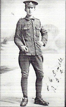 Ilfracombe Museum: J. Dendle, one of hundreds of Ilfracombe soldiers who fought in the 1914-18 war