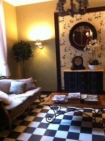 Hotel Egmond : Sitting area