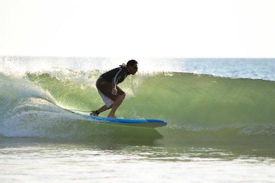 Pablo Surf School: surf in playa Grande...!