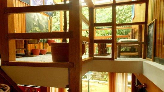 El Mistico Machupicchu: 2nd floor lounge