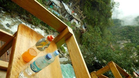 El Mistico Machupicchu: Balcony