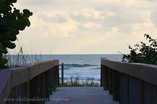 La Quinta Inn & Suites Cocoa Beach Oceanfront: So quick to the beach!