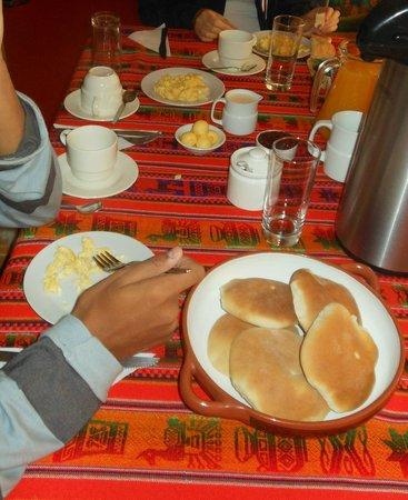 El Mistico Machupicchu: Breakfast