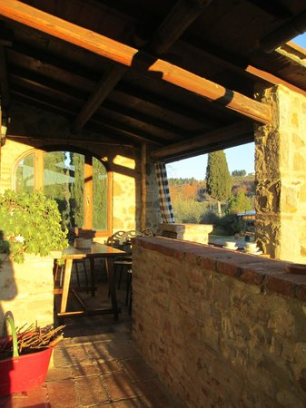 Agriturismo Molinuzzo: balcony