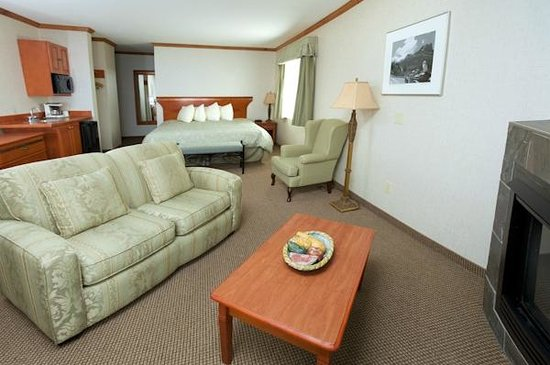 Mount Robson Inn : Miette King Executive Suite