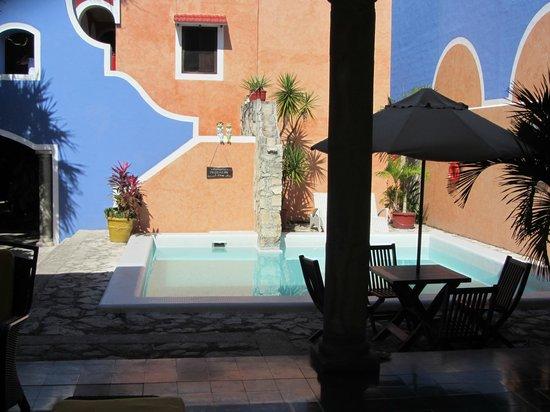 Hotel Casa de las Flores Playa del Carmen: Pool area