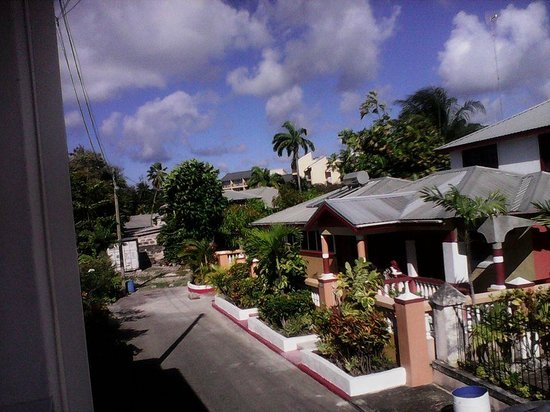 Rio Guest House: view from balcony