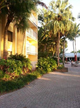 Bonaventure Resort & Spa: room block and lobby area