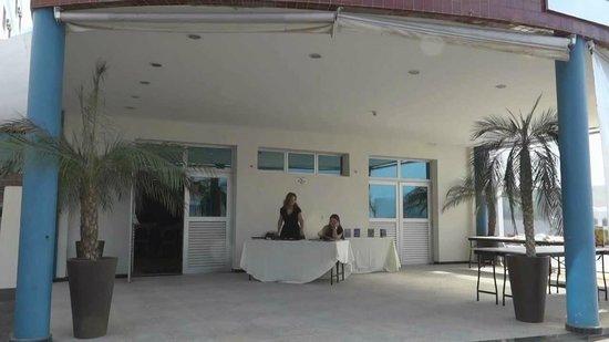 Hotel Di Giulio: entrada do salão eventos