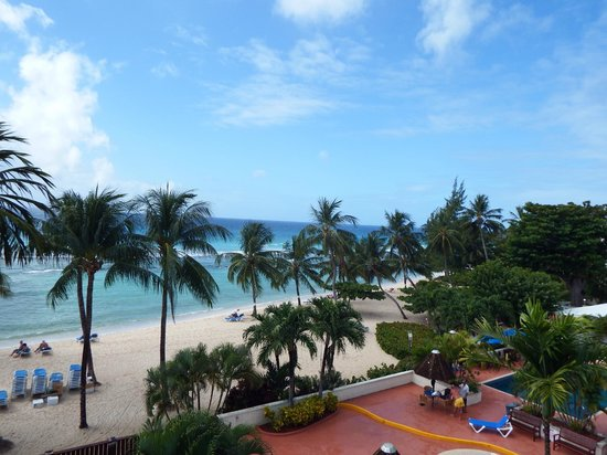 Coconut Court Beach Hotel: view from room