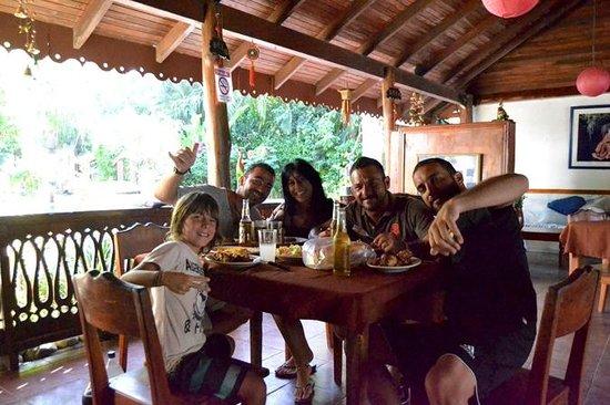 The Lotus Garden: PRANZO CON AMICI (MARTA, RAUL e AMANCAY)