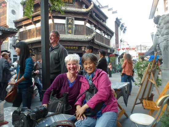 China Culture Tour: Streetscape in Huangshan