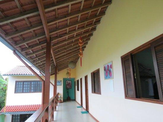 Pousada Raiz da Cajaiba : Parte superior da pousada