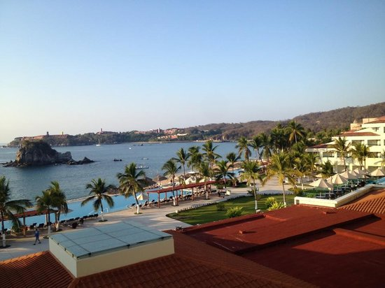 Dreams Huatulco Resort & Spa: Room with a View