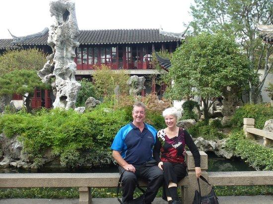 China Culture Tour: Scenery at Yuyuan Garden Shanghai