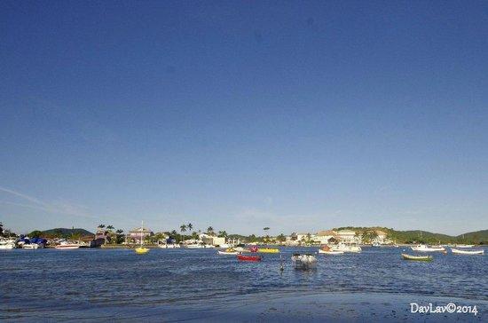 Paradiso Del Sol: Vista do canal, parte traseira do hotel