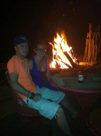 Westender Inn: Sunday bonfire