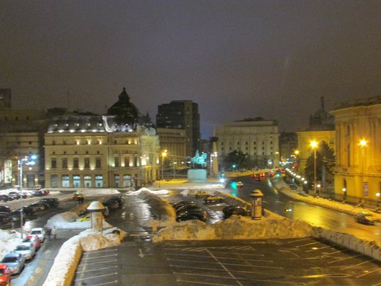 Athenee Palace Hilton Bucharest: View from my room