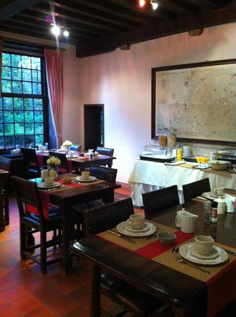 Hotel Egmond: Breakfast room