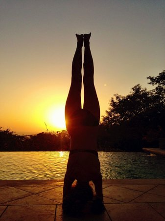Finca Las Nubes: Sunset Yoga
