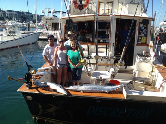 Discretion Sportfishing: Awesome! captain Mike and Mate Justin really fish hard! We will be back next year!