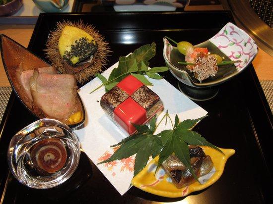 Shimoda Yamatokan : dinner