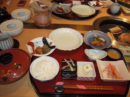 Shimoda Yamatokan : breakfast
