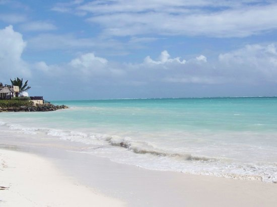 Sanctuary Cap Cana by Playa Hotels & Resorts : Beach to the right of the resort