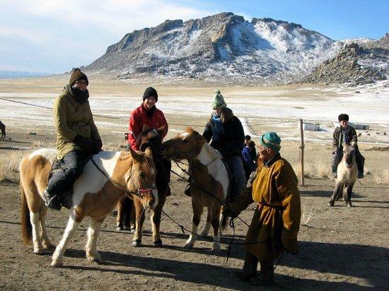 Idre Hostel : Horseback riding