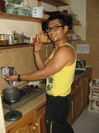 Idre Hostel : The kitchen in the hostel