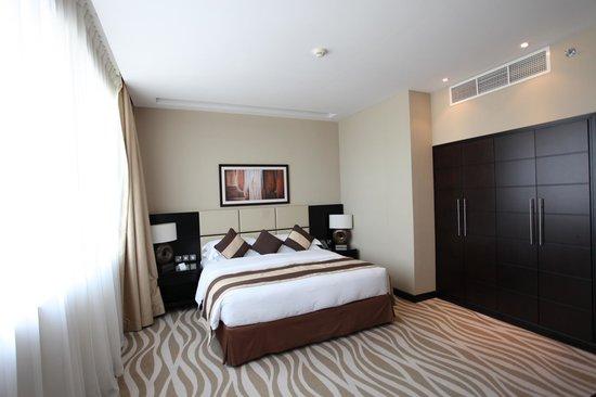Cristal Hotel Abu Dhabi : bedroom