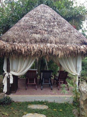 Nurture Wellness Village: Massage area