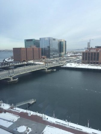 InterContinental Boston: View from window - 10th floor