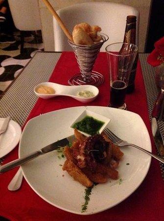 Pimento Cucina Italiana : great pulpo