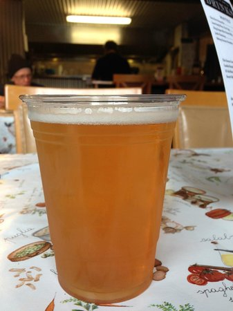 Schellville Grill: $7.00 for a Lagunitas on tap?