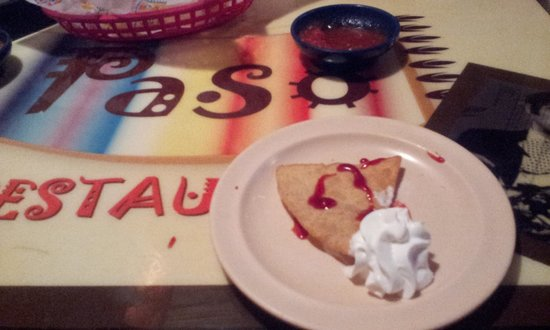 El Paso Mexican Restaurant: Dessert