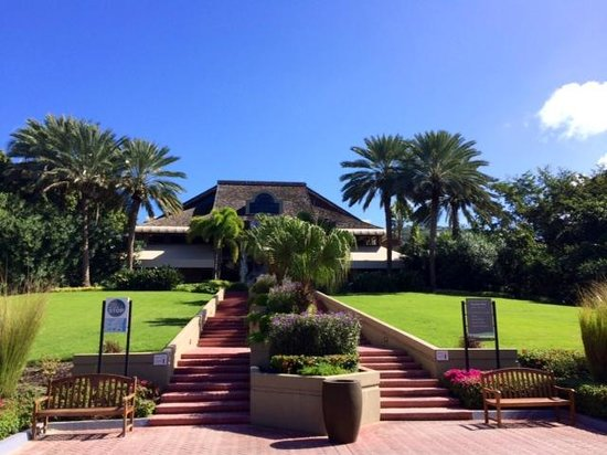 The Westin St. John Resort Villas: Looking towards reception