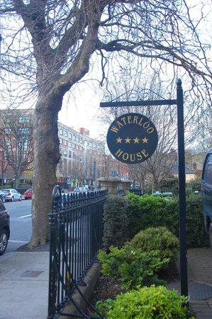 Waterloo House : A bit of the classic Georgian street