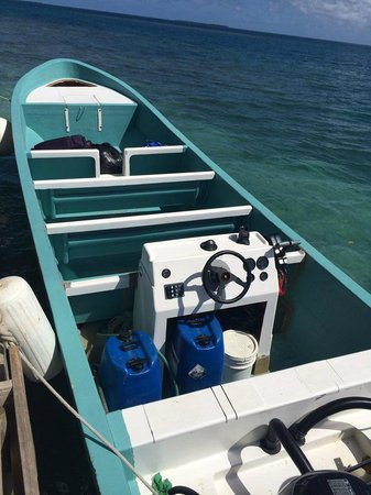 Yok Ha Resort: The boat they use for transportation