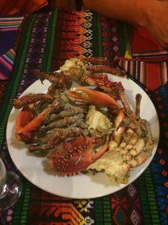 Yok Ha Resort: Fresh caught crab.