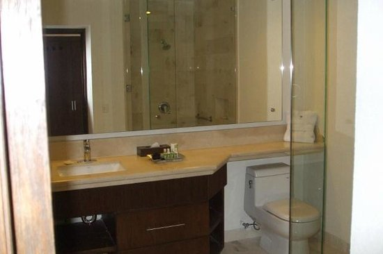 Grand Miramar All Luxury Suites & Residences: Bathroom w/walk in shower