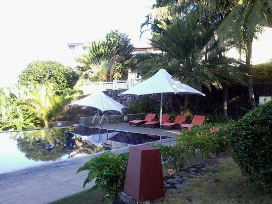 Club Punta Fuego: Lounge by the Pool