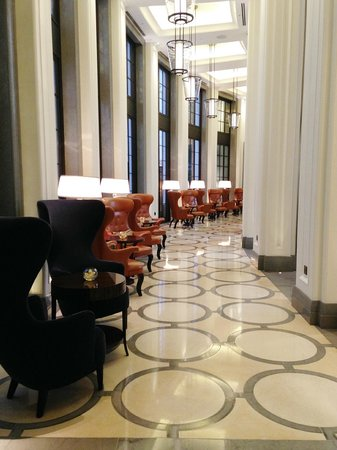 Corinthia Hotel London: Hotel lobby lounge