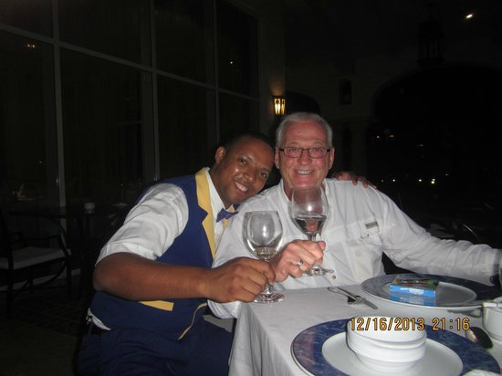 Iberostar Grand Hotel Bavaro: Christian and myself sharing a toast