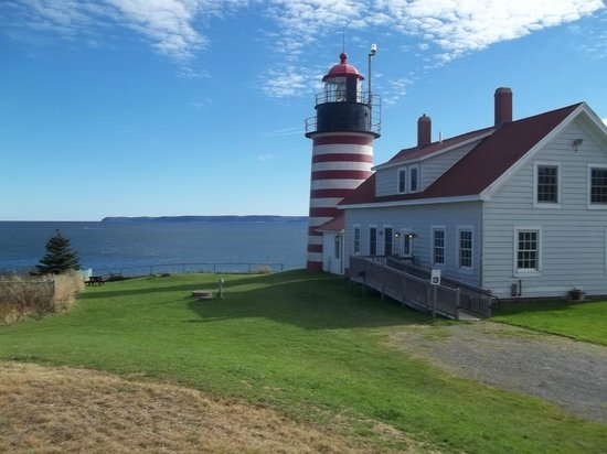The Talbot House Inn: Quoddy LightHouse
